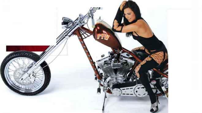 Motorbike pics girl nudist