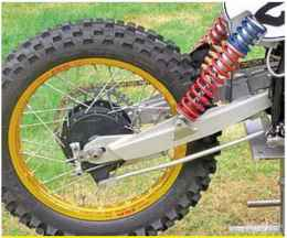 Dirt Bike Swing Arm And Chassis