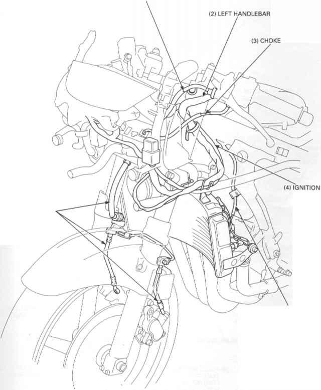 1996 honda shadow vt1100c wiring diagram honda vt700