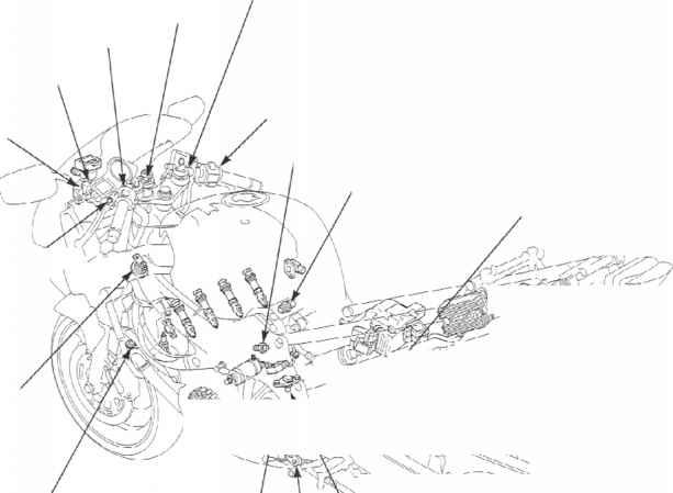 Electric Starter - Honda Cbr 600 F4i