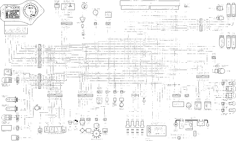 Wiring Diagram - Honda Cbr 600 F4i
