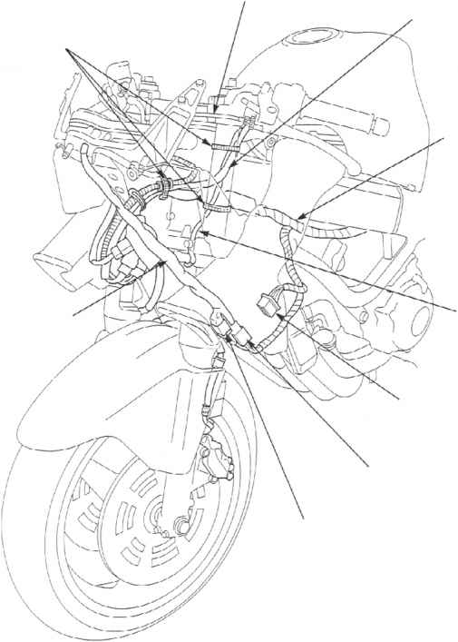 honda cbr 600 wiring diagram on 2003 motorcycle honda cb