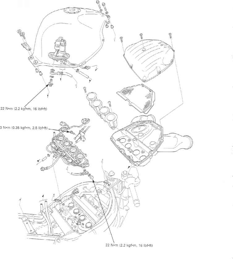 Cbr 600 Fuel System Diagram