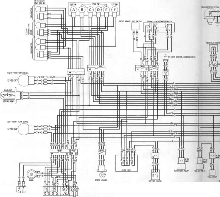 Rapid Bike Honda Cbr Wiring Diagram