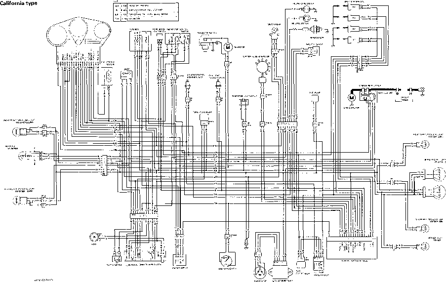 1996 Yamaha Vmax 600 Wire Diagram