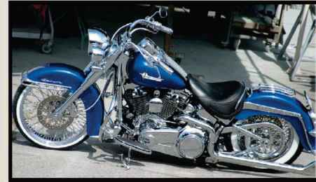Lowrider Softail Deluxe