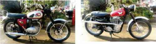 Bsa 550 Bike Original