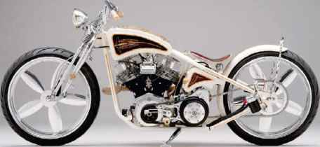 Ami James Motorcycle