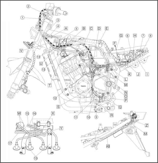 Yamaha Moto 4 Carburetor Diagram On Yamaha Banshee Headlight Diagram