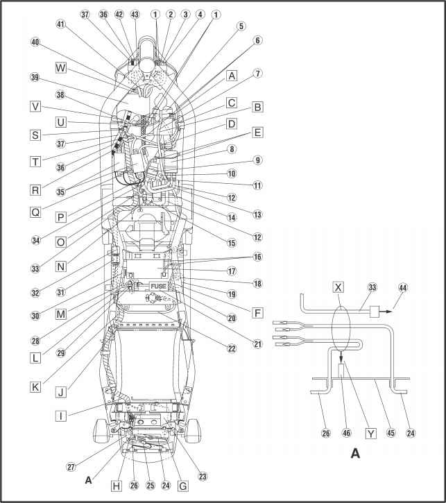 1860_11_42 cable routing yamaha fazer fzs600 kappa motorbikes fzr600 wiring diagram at aneh.co