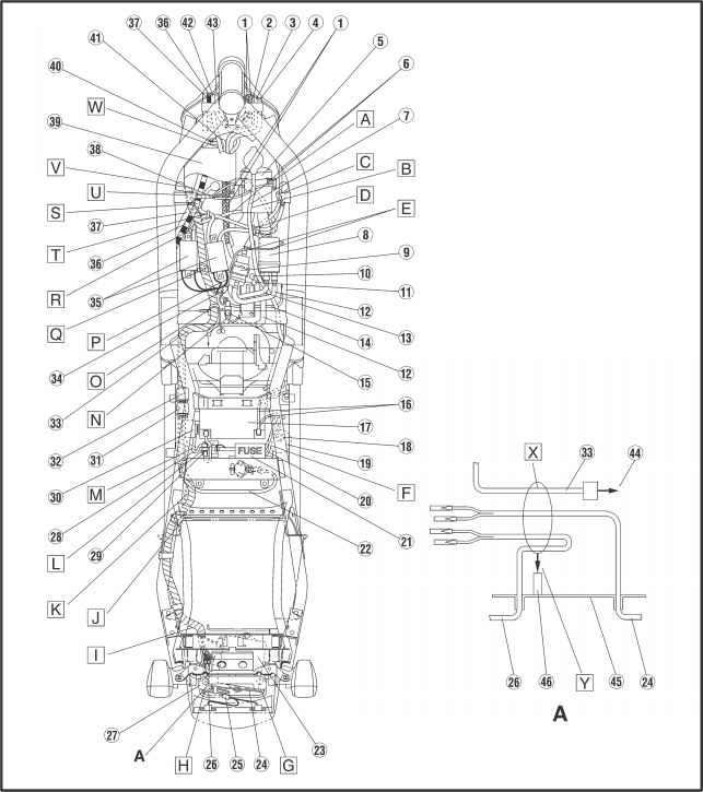 cable routing - yamaha fazer fzs600