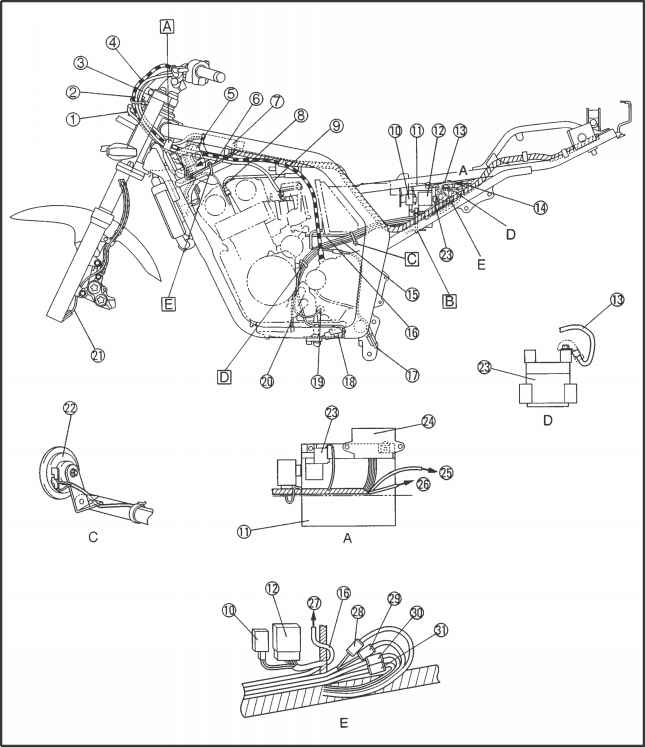 1861_31_45 fazer fzs600 side stand yamaha blaster stator wiring diagram the wiring diagram fzr600 wiring diagram at aneh.co
