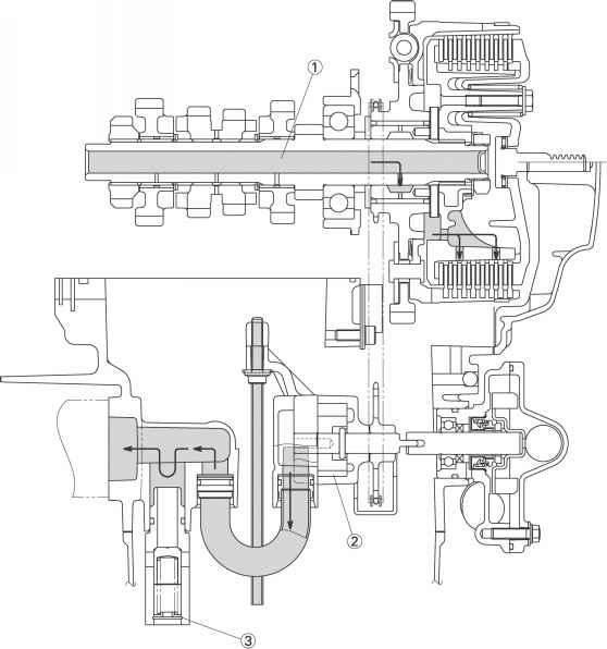 harley shock diagram