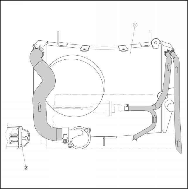 Radiator Water Pipes Diagram on Radiator Cooling System Diagram