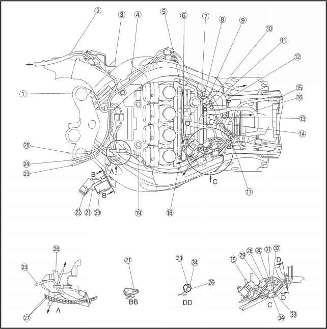 2000 yamaha r6 filter diagram   29 wiring diagram images