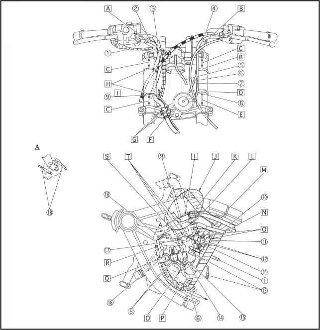 yamaha tt500 coil diagram