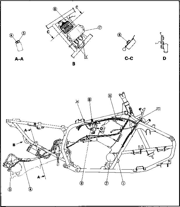 1995 Yamaha Warrior 350 Wiring Diagram