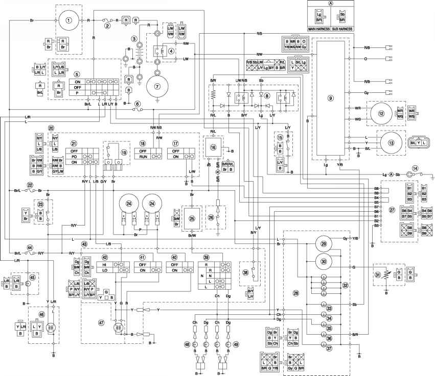 24v E Scooter Wiring Diagram Com