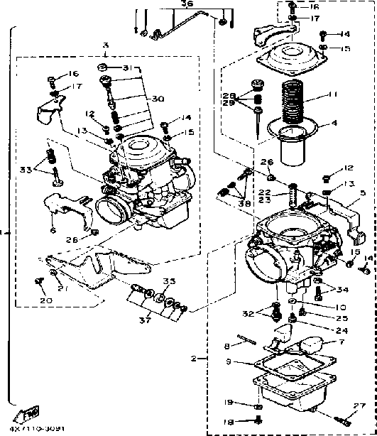 Gsf 600 Carb Breakdown Diagram